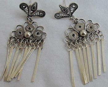 Ant's earrings