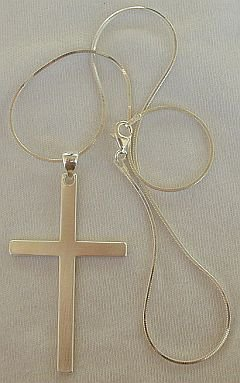 Cross pendant-CK
