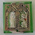 Mini peridot Rosary box