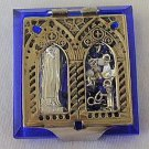 Mini blue Rosary Box