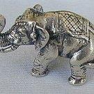 Elephant silver miniature-C
