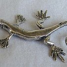 Lizard silver miniature