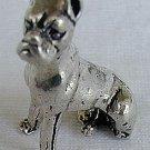Buldog silver miniature-A