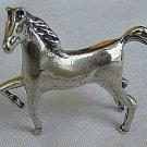 Horse silver miniature