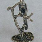 Parrot silver miniature