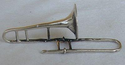 Trombone miniature