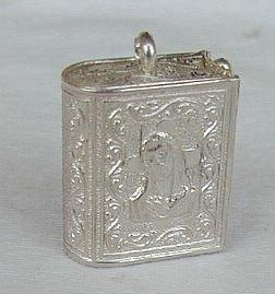 Christ silver box
