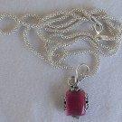 Mini  pink pendant
