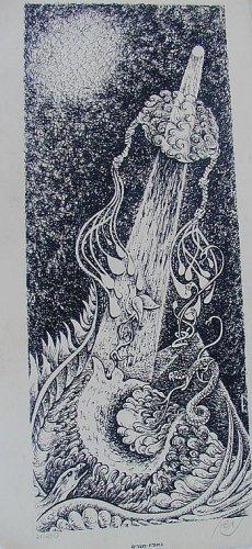 Jewish art Lithography - 1 Nahson