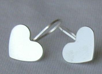 Mini silver hearts