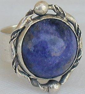 Blue Lapis ring-SR108