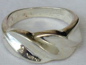 Silver-AE ring
