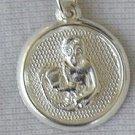 Aquarius round pendant