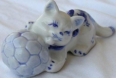A footballer cat