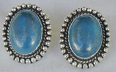 Blue Mali earrings
