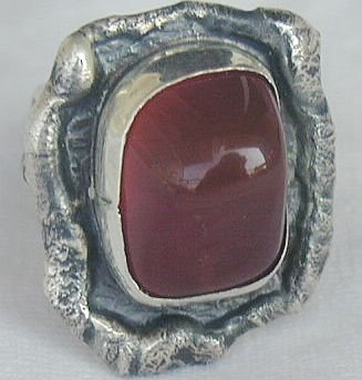 Red handmade ring-HMA