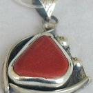 Blood stone pendant--PB