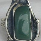 Green agate -HMGN ring