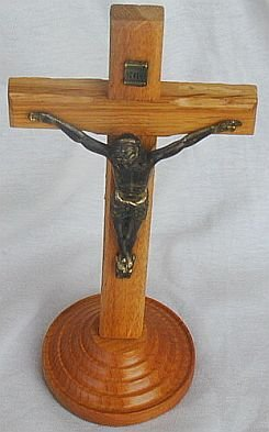 Oak wood Cross from the Holy-Land