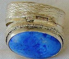 Light blue mini box