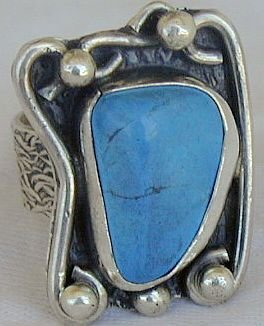 Turquoise ring-SR120