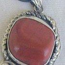 Blood stone handmade pendant-HMP7