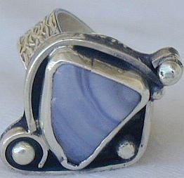 Lace handmade ring-SR98