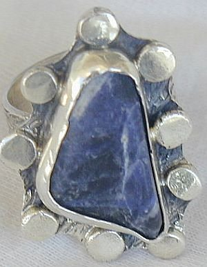 Lapis raw ring-SR82