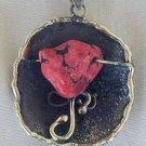 Red sea stone pendant-P8