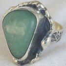 Green galss ring-SR107