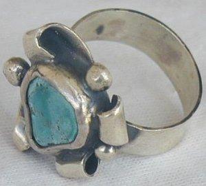 Eilat press stone ring-SR94