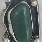 Green agate ring-SR63