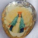 Antique teaspoon from Czechoslovakia-silver-Mary