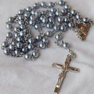 Gray pearls Rosary