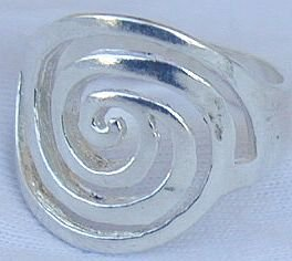 Greek shape ring
