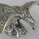 Eagle silver miniature