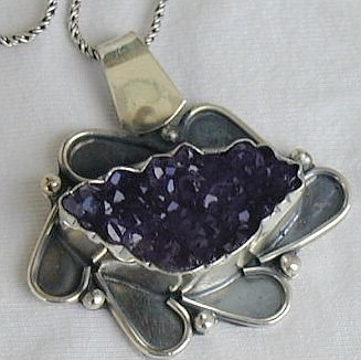 Ome Amethyst-A- necklace