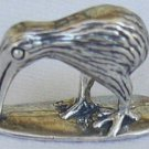 A Kiwi silver miniature
