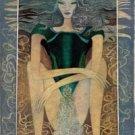 Artistic capricorn zodiac sign poster
