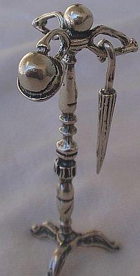 British hanger silver miniature