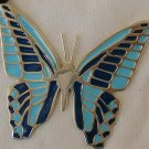 Turquoise butterfly pendant - B