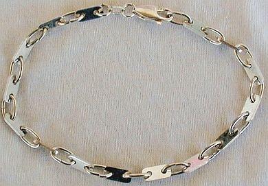 Silver parts  bracelet-A