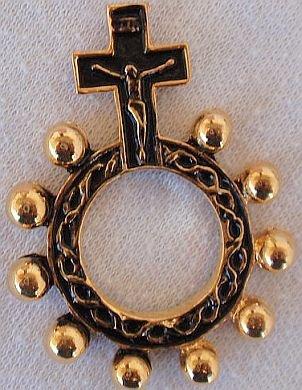 Goden finger rosary-C