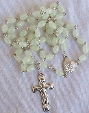 Grapefruit color Rosary