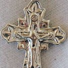 Catholic shiny silver pendant