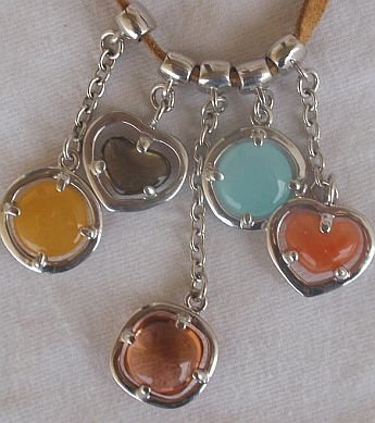 MasimoRuaro 5 charms necklace