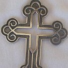 Big Celtic  Cross+silver chain
