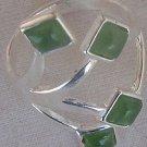 light green branch ring