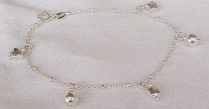 Star-silver bracelet