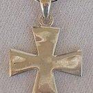 Cross pattée silver